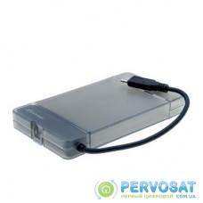 """Карман внешний Grand-X HDD 2,5"""" USB 3.1 Type-C (HDE31)"""