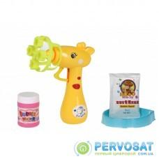 Same Toy Мыльные пузыри Bubble Gun Жираф (желтый)