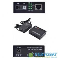 Медиаконвертер 10/100Base-TX to 100Base-FX 1310T/1550R, SM, SC/PC, 20 км Step4Net (MC-A-0,1-1SM-1550nm-20)