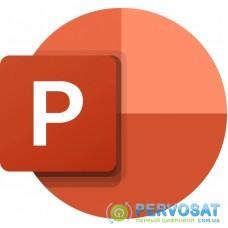 Офисное приложение Microsoft PowerPoint LTSC for Mac 2021 Commercial, Perpetual (DG7GMGF0D7CV_0002)