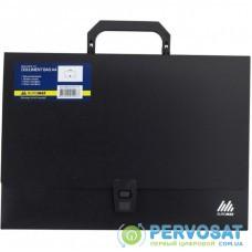 Папка - портфель BUROMAX A4/35мм, black (BM.3724-01)