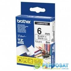 Лента для принтера этикеток Brother TZE211