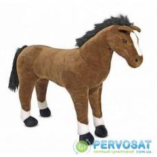 Мягкая игрушка Melissa&Doug Гигантская плюшевый конь, 100 см (MD12105)