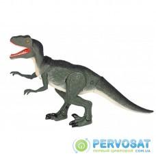 Same Toy Динозавр - Велоцираптор зеленый (свет, звук)