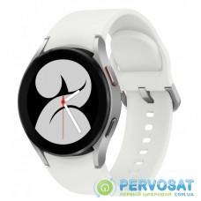 Смарт-часы Samsung SM-R860/16 (Galaxy Watch 4 small 40mm) Silver (SM-R860NZSASEK)