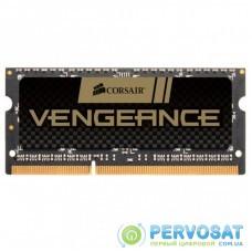 Модуль памяти для ноутбука SoDIMM DDR3 8GB 1600 MHz Vengeance Black CORSAIR (CMSX8GX3M1A1600C10)