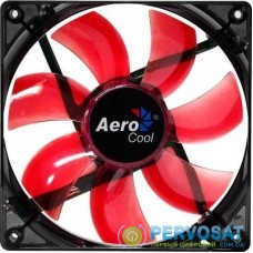 Кулер для корпуса AeroCool Lightning RedLED120 (4713105951363)