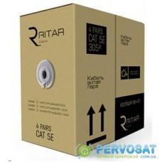 Кабель сетевой Ritar UTP 305м КНП (4*2*0,50)[СCA] ПВХ+ПЭ, наружный (03494)
