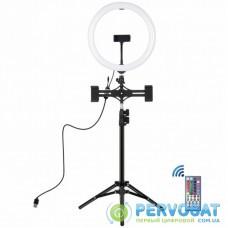 """Набор блогера Puluz Ring USB LED lamp PKT3068B 11.8"""" + tripod 1.1 м (PKT3068B)"""