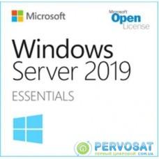 ПО для сервера Microsoft Windows Server 2019 Essentials (DG7GMGF0DVSZ_0008)