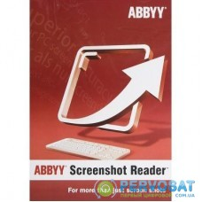 ПО для работы с текстом ABBYY Screenshot Reader (ESD) for personal use (SR11XW-FMPL-X)
