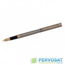 Ручка перьевая Regal Стальной корпус в бархатном чехле Синяя (R68007.F)