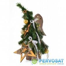 Искусственная елка YES! Fun с украшениями Ангел 0,35 м (904286)