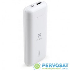 Батарея универсальная Vinga 10000 mAh glossy white (VPB1MWH)