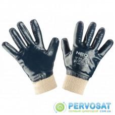 Защитные перчатки Neo Tools рабочие, хлопок с полным нитриловым покрытием, p. 8 (97-630-8)