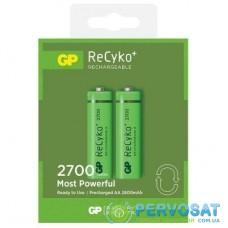 Аккумулятор GP AA R6 Recyko+ 2700mAh * 2 (270AAHCE-2GBE2)
