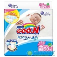 Подгузник GOO.N для новорожденных до 5 кг размер SS на липучках 90 шт (843152)