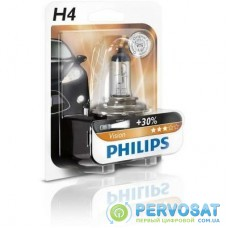 Автолампа PHILIPS H4 Vision, 3200K, 1шт (12342PRB1)