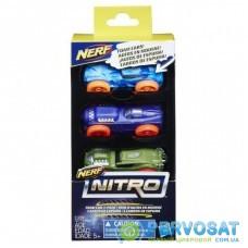 Автотрек Nerf Nitro Три машинки (E1236)