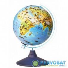 Интерактивная игрушка Alaysky's Globe Глобус зоо-географический с LED подсветкой, Д25см (AG-2534)