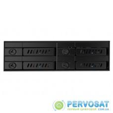 """Відсік для накопичувача CHIEFTEC Backplane CMR-425, 4x2.5"""" HDD/SSD,1x5.25"""" EXT Slot,SATA,чорний,RETAIL"""