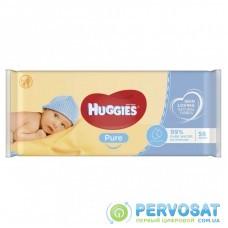 Влажные салфетки Huggies Pure 56 шт (5029053550039)