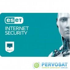 Антивирус ESET Internet Security 3ПК 12 мес. base/20 мес продление конверт (2012-3-key)