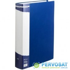 Папка с файлами BUROMAX 100 files А4 (in case), blue (BM.3633-02)