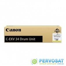 Оптический блок (Drum) Canon C-EXV34 Yellow (3789B003)
