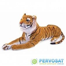 Мягкая игрушка Melissa&Doug Гигантский плюшевый тигр, 1,8 м (MD12103)