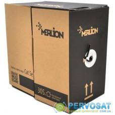 Кабель сетевой Merlion UTP 500м КНП (2*2*0.5) 2p 24 AWG [СCA] внешний (09844)