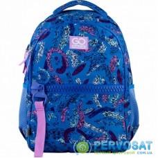 Рюкзак школьный GoPack Сity 161-1 синий (GO21-161M-2)