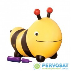 Качалка Battat Баттатопрыгун Пчела-ла-ла с насосом Черный с желтым (BX1455Z)