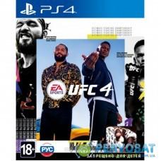 Игра SONY EA SPORTS UFC 4 [PS4, Russian subtitles] (1055619)