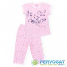 Пижама Aziz с девочкой и котиками (9136-05G-pink)