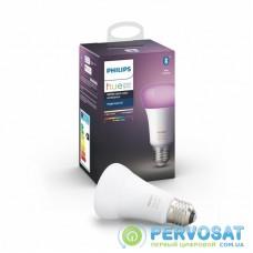 Умная лампочка Philips Hue Single Bulb E27, Color, BLE, DIM (929002216824)