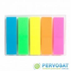 Стикер-закладка Axent Plastic bookmarks 5х12х45mm, 125шт (D2450-01)