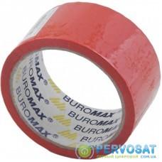 Скотч Buromax Packing tape 48мм x 35м х 43мкм, red (BM.7007-05)