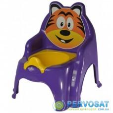 Горшок Active Baby Тигрик фиолетовый (01-13317/019)