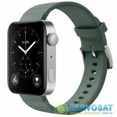 Ремешок для смарт-часов BeCover Silicone для Xiaomi Mi Watch Pine Green (704517)