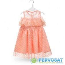 Платье Breeze с кружевом (14316-92G-peach)