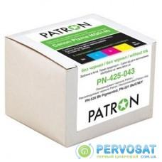 Комплект перезаправляемых картриджей PATRON CANON MG5140/5240/5340 (5шт) (PN-425-N044/PN-425-044)