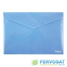 Папка - конверт Axent А4, textured plastic, blue (1412-22-А)