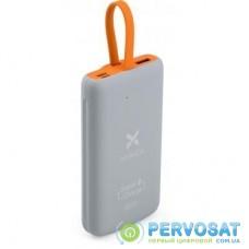 Батарея универсальная Vinga 10000 mAh SuperQC soft touch w/cable 22.5W dark grey (VPB1SQSCDG)