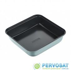 Форма для випікання Ardesto Tasty baking 23,2*22 см квадратна, сірий,голубий, вуглецева сталь