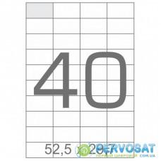 Этикетка самоклеящаяся TAMA 52,5х29,7 (40 на листі) с/кл (100листів) (17802)
