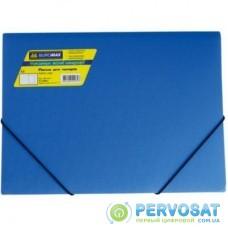 Папка на резинках BUROMAX А4, JOBMAX, blue (BM.3911-02)