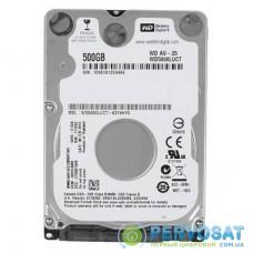 "Жесткий диск для ноутбука 2.5"" 500GB WD (# WD5000LUCT-FR#)"