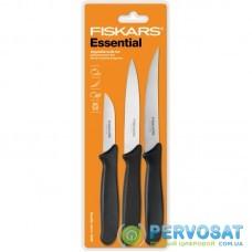 Набір ножів для чистки Fiskars Essential, 3 шт