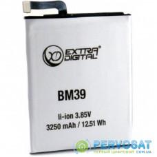 Аккумуляторная батарея для телефона EXTRADIGITAL Xiaomi Mi 6 (BM39) 3250 mAh (BMX6472)